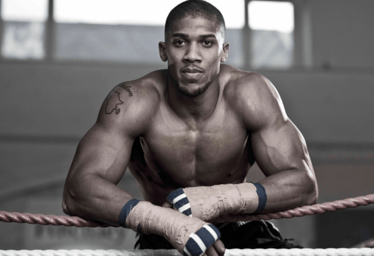 Anthony Joshua training | Timefortrain