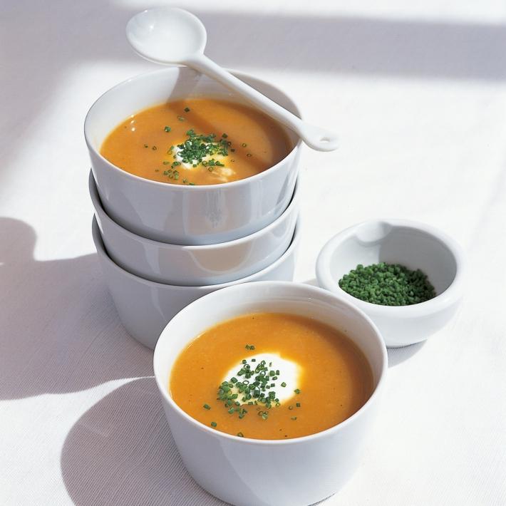 Супа от печени зеленчуци и шунка 1 | Timefortrain.com