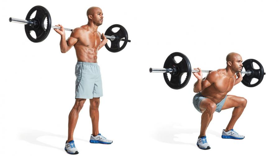 Фитнес програма StrongLifts 5 × 5 01 | Timefortrain.com