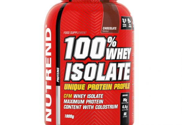 Whey Isolate 1800g (Nutrend) | Timefortrain.com