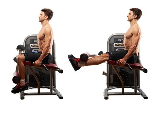 Бедрено разгъване Leg Extension - Timefortrain.com