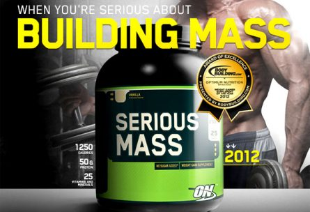 Serious Mass Optimum Nutrition 5455 гр. - Ревю